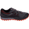 saucony Xodus Iso 2 GTX Running Shoes Men Gray/Red